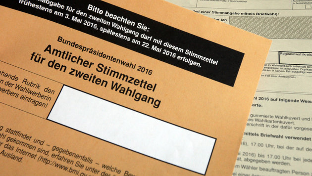 Kampf um Hofburg: Ab heute kann abgestimmt werden (Bild: APA/Georg Hochmuth)