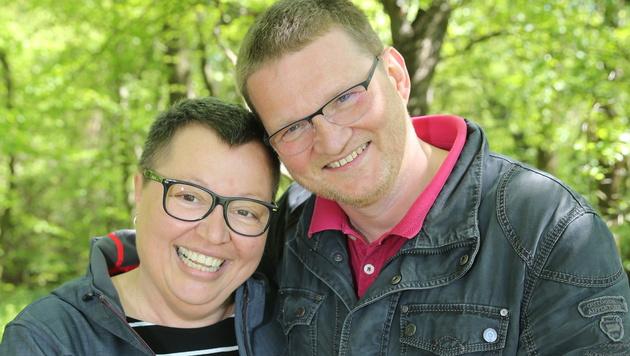 Ministerin Sabine Oberhauser und Radiologe Gerold Oberhauser sind seit mehr als 30 Jahren ein Paar. (Bild: Peter Tomschi)