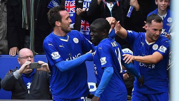 Fuchs und das blaue Wunder: Leicester fast durch (Bild: AFP or licensors)