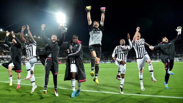 Juventus Turin dank 2:1 so gut wie fix Meister! (Bild: AFP or licensors)