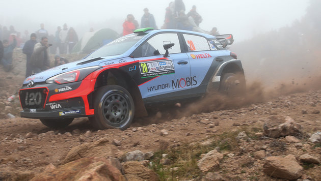 """""""Kiwi"""" Sensationssieger bei Argentinien-Rallye! (Bild: AP)"""