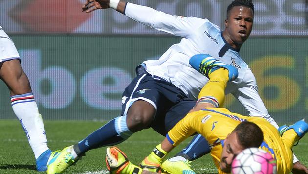 Lazio verspielt wohl letzte Chance auf EC-Platz (Bild: AP)