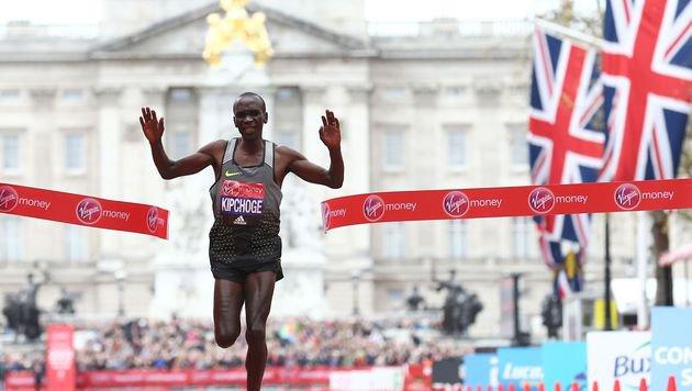 London-Marathon: Weltrekord hauchdünn verpasst (Bild: AFP)