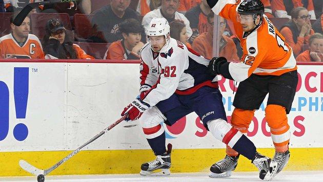 Michi Raffl scheitert mit Flyers im NHL-Play-off (Bild: 2016 Getty Images)