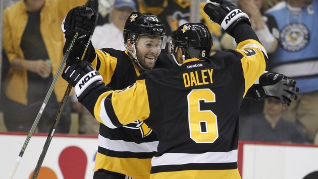 Penguins nach Sieg gegen Rangers in 2. Runde (Bild: APA/AFP/GETTY IMAGES/Justin K. Aller)