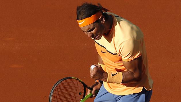 Rekord! Rafael Nadal setzt sich selbst ein Denkmal (Bild: AP)