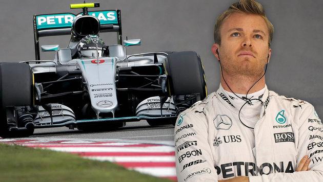 """Rosberg tobt: """"So kann es nicht weitergehen"""" (Bild: ASSOCIATED PRESS, APA/AFP/JOHANNES EISELE)"""
