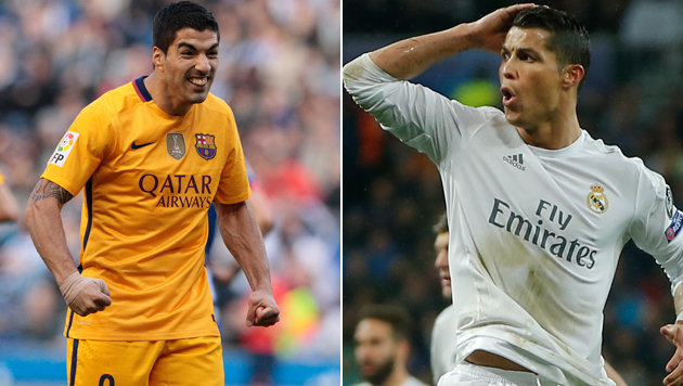 Suarez hängt mit Spanien-Premiere Ronaldo ab! (Bild: ASSOCIATED PRESS)