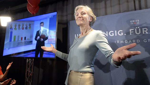 Schaffte es nicht in die Stichwahl: Irmgard Griss (Bild: APA/Hans Klaus Techt)