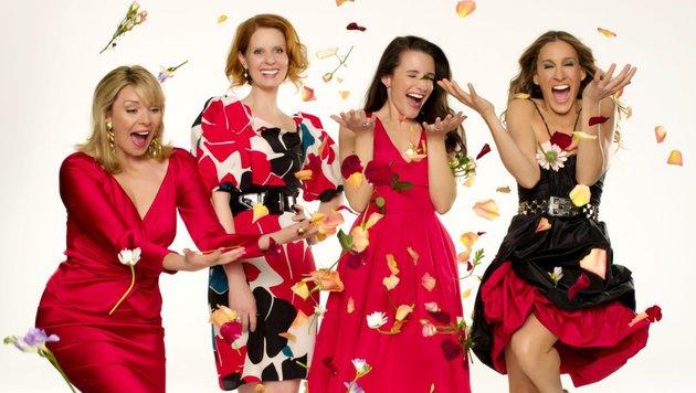 Kim Cattrall, Cynthia Nixon, Kristin Davis und Sarah Jessica Parker (Bild: HBO)