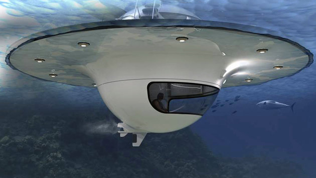 """Meeres-""""UFOs"""": So sieht die Jacht der Zukunft aus (Bild: Jet Capsule)"""