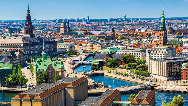 Kopenhagen - eine gemütliche Millionenstadt mit viel Atmosphäre und ohne Wolkenkratzer. (Bild: figurniysergey.com)