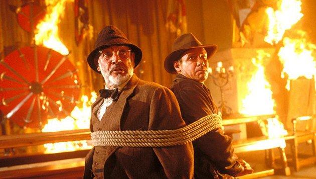 """""""Indiana Jones und der letzte Kreuzzug"""" (Bild: Lucasfilm Ltd.)"""