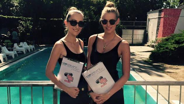 """""""Wirklich heiß: Die schönsten VIP-Girls der Stadt! (Bild: Vipservice Monika Milde)"""""""