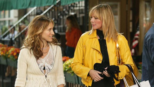 Sarah Jessica Parker und Kim Cattrall (Bild: HBO)