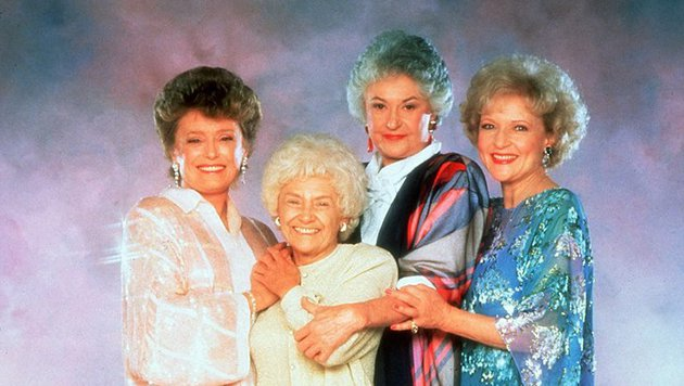 Rue McClanahan, Estelle Getty, Bea Arthur und Betty White (Bild: NBC)