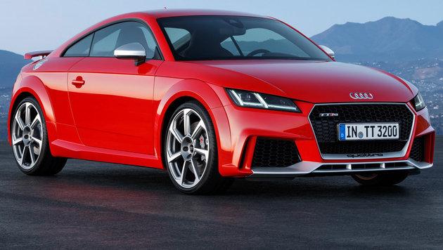 Audi TT RS: Der neue Henkelmann kommt mit 400 PS (Bild: Audi)