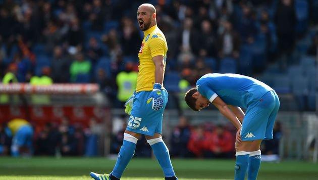 Napoli-Pleite in Rom: Juventus ist Meister! (Bild: AFP)
