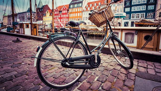 Dänemarks Hauptstadt Kopenhagen zeigt sich für Radler von der besten Seite. (Bild: Fotolia)