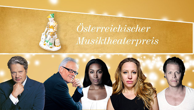 """Wer bekommt den """"Krone""""-Musicalpreis? (Bild: VWB Nathalie Bauer, Josefstadt, Ifkovitz, Robert Niederl)"""