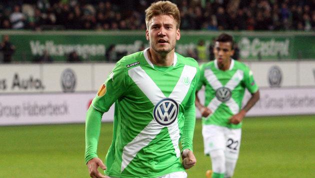 Wolfsburg löst Vertrag mit Nicklas Bendtner auf (Bild: GEPA)