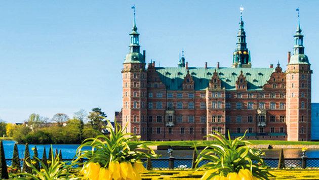 Das Königsschloss, Dänemark ist Europas älteste Monarchie. (Bild: Brigitte Egger)