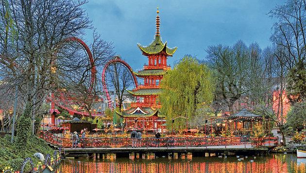 Der Vergnügungspark Tivoli ist ein Fixpunkt für jeden Stadtbesucher. (Bild: Fotolia)