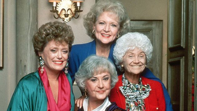 Rue McClanahan, Bea Arthur, Betty White und Estelle Getty (Bild: NBC)