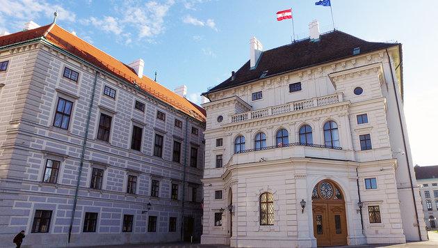 So prunkvoll regiert unsere Politik in Wien (Bild: APA/HELMUT FOHRINGER)