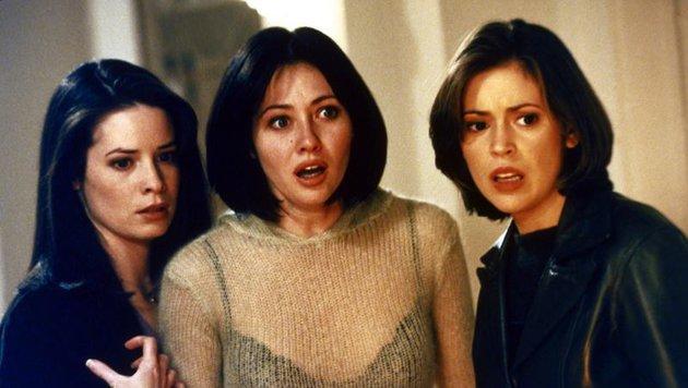 Holly Marie Combs, Shannen Doherty und  Alyssa Milano (Bild: CBS)