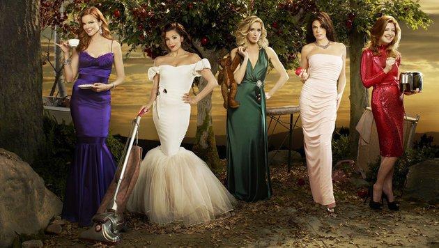 Marcia Cross, Eva Longoria, Felicity Huffman, Teri Hatcher und Dana Delany (Bild: ABC)