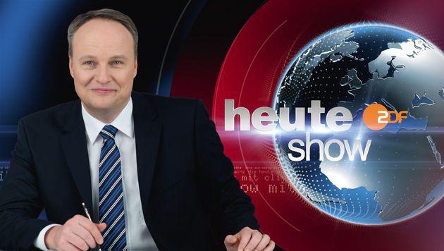 """Oliver Welke, der Moderator der ZDF-Satiresendung """"heute-show"""" (Bild: ZDF/Stefan Menne)"""