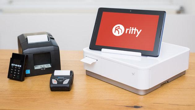 Ritty gibt's je nach Paket mit verschiedenen Tablets und Belegdruckern. (Bild: Alexander Müller)