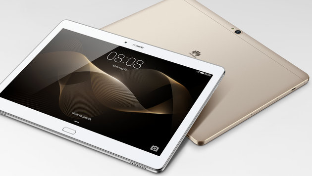 MediaPad M2 10.0: Guter Sound, noch besserer Stift (Bild: Huawei)