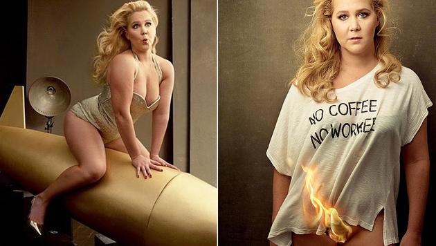 """Amy Schumer zeigt sich in der """"Vanity Fair"""" unten ohne und brandheiß. (Bild: instagram.com/amyschumer)"""