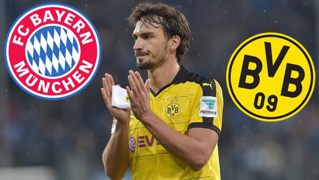 "BVB-Boss: ""Wenn Hummels wechselt, dann zu Bayern"" (Bild: GEPA, Bayern München, Borussia Dortmund)"