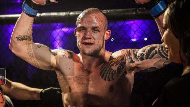 Josh Herdman hat dieses Fotos von sich nach einem Cagefight auf Twitter gepostet. (Bild: twitter.com/josh_herdman)