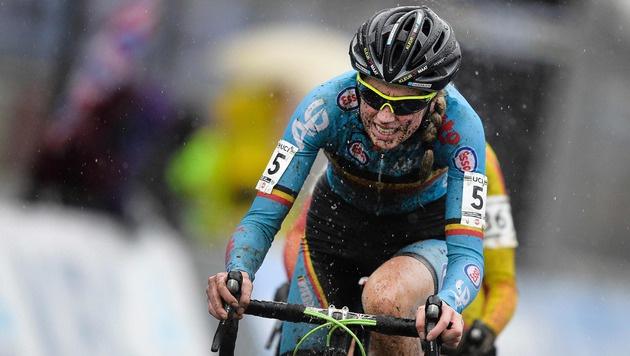 Femke van den Driessche (Bild: APA/AFP/Belga/YORICK JANSENS)