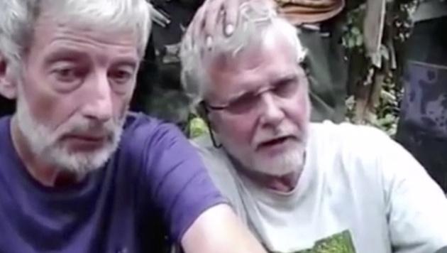 Der Kanadier John Ridsdel (rechts) wurde von seinen Entführern enthauptet. (Bild: AP)