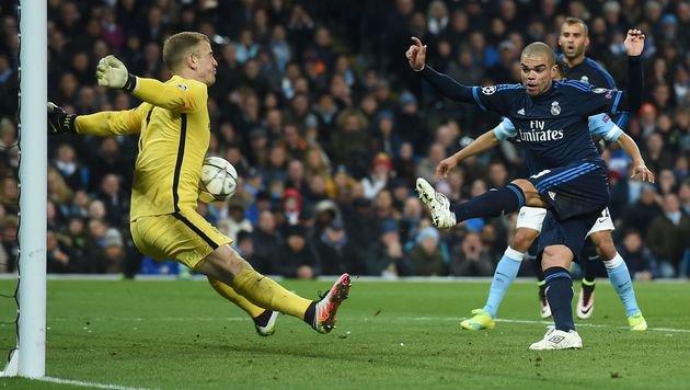Real ohne Ronaldo zu harmlos, Hart rettet ManCity (Bild: AFP)