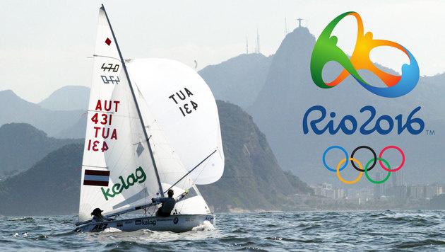 """Rio: Segler und """"Beacher"""" in Außenquartieren (Bild: OeSV)"""