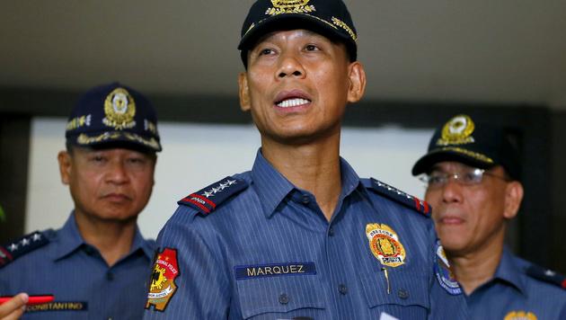Der Chef der philippinischen Polizei, Ricardo Marquez (Bild: AP)