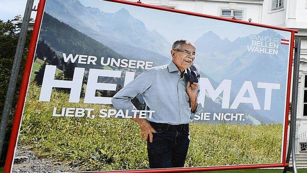 """Weiter """"Heidi-Wohlfühl-Faktor"""" bei Van der Bellen (Bild: APA/HELMUT FOHRINGER)"""