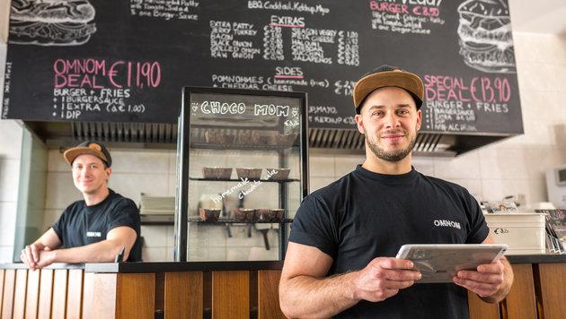 Ritty buhlt insbesondere um Kleinunternehmer wie Lokalbetreiber. (Bild: Alexander Müller)