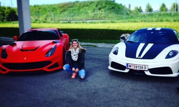 """""""Das ist der glückliche Ferrari-Gewinner (Bild: City4U)"""""""