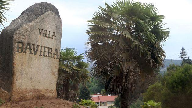 """Die Siedlung """"Villa Baviera"""" auf dem Gel�nde der """"Colonia Dignidad"""" (Bild: APA/AFP/CLAUDIO REYES)"""