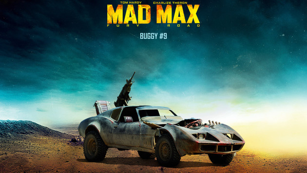 "Der ""Buggy"" aus dem Film ""Mad Max: Fury Road"" (Bild: Warner Bros.)"