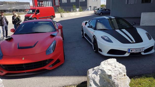 """""""Das ist der glückliche Ferrari-Gewinner (Bild: Steve K.)"""""""