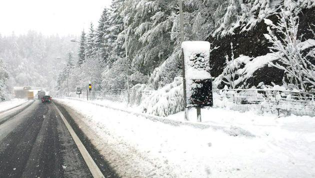 Die Südautobahn im Packabschnitt (Bild: APA/ASFINAG)