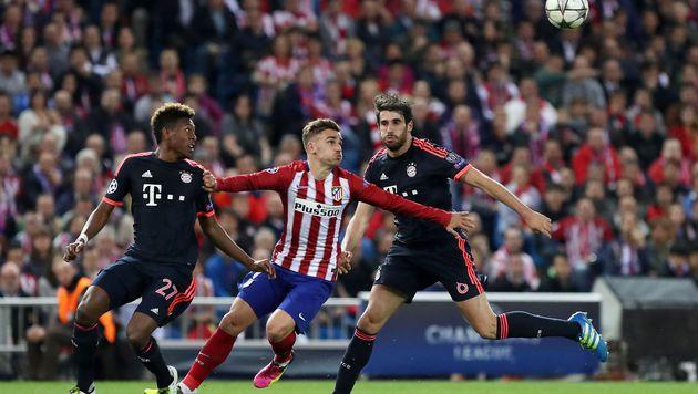 Bayern stürmt, Alaba hämmert - Atletico jubelt (Bild: AFP)